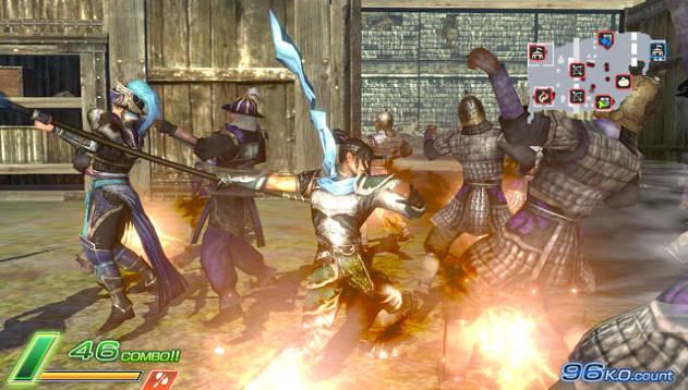dwnext 1 - Dynasty Warriors Next PS VITA