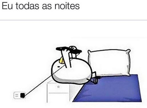 eu todas as noites