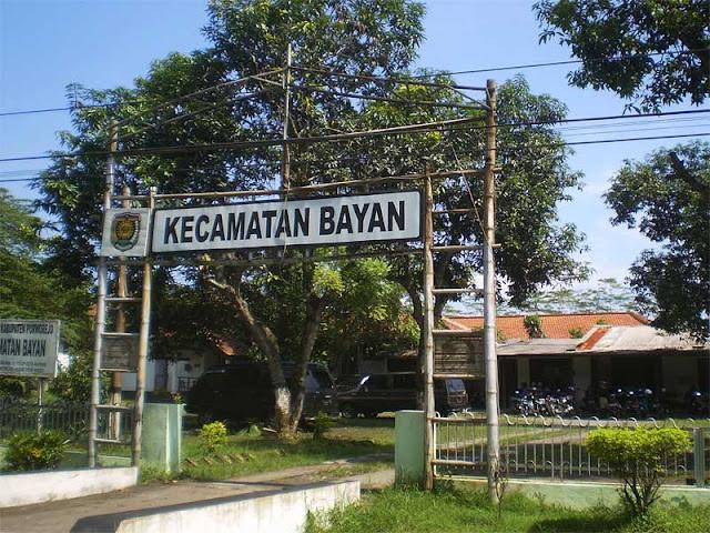 Foto Kantor kecamatan Bayan purworejo jawa tengah