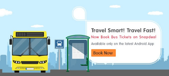 Now Book Bus Tickets on Snapdeal