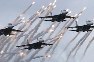 Hem .. Pesawat Tempur Rezim Rusia Terus Tingkatkan Serangan ke Idlib - Commando
