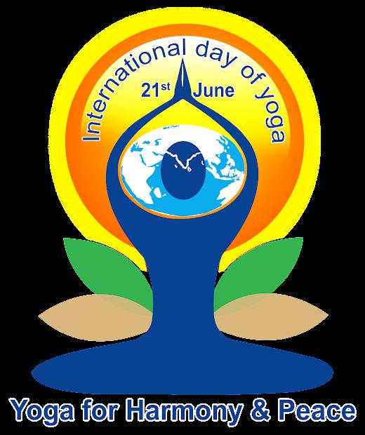 International Yoga Day Logo Psd File Free