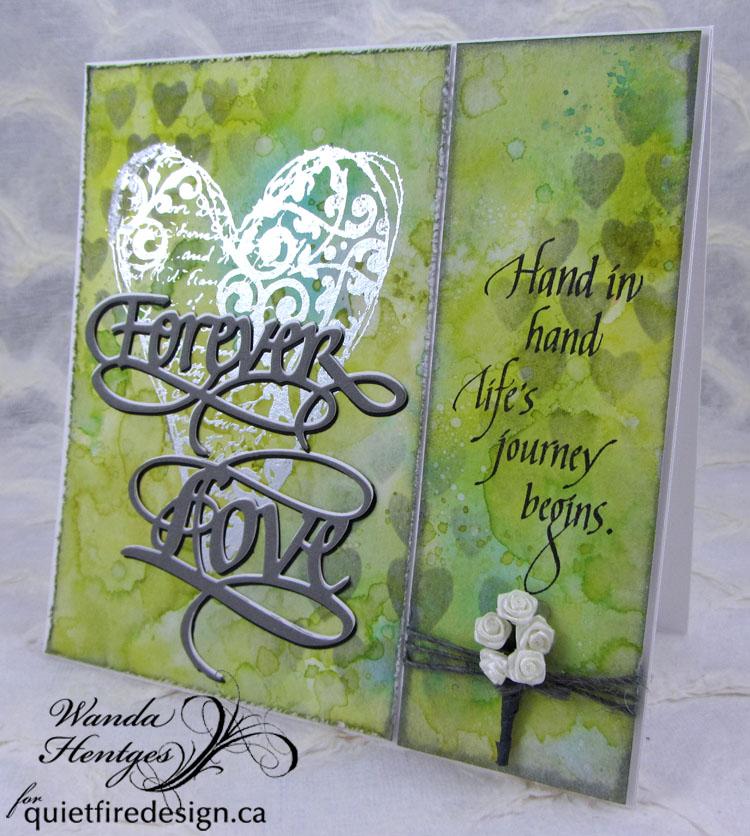 artwanda forever love wedding card