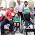 Mauricio Vila encabezó la quinta entrega de aparatos ortopédicos