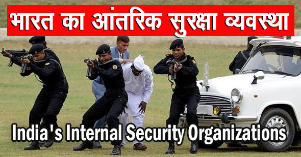 India's Internal Security Organizations