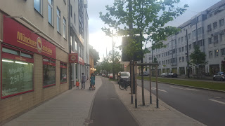 Streetway to Pasing Arcaden Part of Walking With Robots Blog by Kyle Morris.