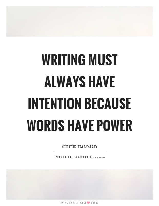 The power of words essay