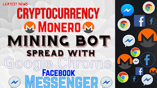 Cryptocurrency mining bot Digmine malware spread with Facebook Messenger