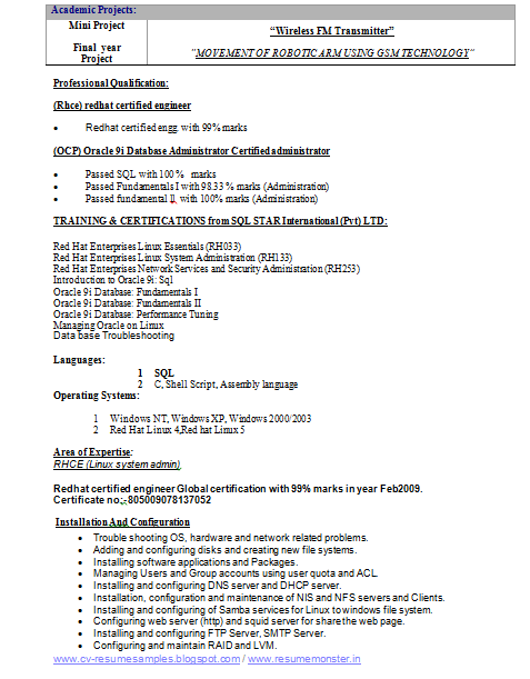 ... and Resume Samples with Free Download: Electrical Engineering Resume