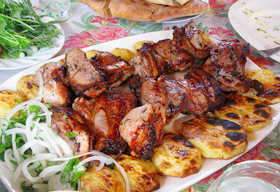 шашлык, рецепты кулинарные, еда, из мяса, блюда из мяса, блюда на шампурах, шашлык в кастрюле, шашлык заранее, рецепты шашлыка, из баранины, блюда для пикника, из говядины, из свинины, вкусная еда, Шашлыки разных народов - коллекция рецептов Готовим шашлыки заранее: рецепты и советы, Оригинальный шашлык из фарша, Хазани хоровац (армянская кухня), Шашлык в казане, Шашлык в кастрюле, Шашлык из луфаря, Шашлык из сушеных грибов с салом, Шашлык на пару, шашлык, рецепты кулинарные, еда, из мяса, блюда из мяса, блюда на шампурах, шашлык в кастрюле, шашлык заранее, рецепты шашлыка, из баранины, блюда для пикника, Готовим шашлыки заранее:рецепты и советы, http://prazdnichnymir.ru/,