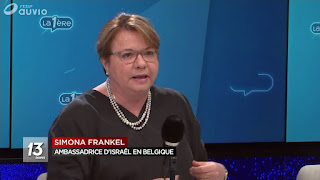 L'ambassadrice d'Israël en Belgique