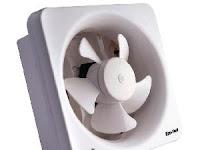 Tips  Cara Memilih Ukuran Exhaust Fan Ruangan yang baik dan benar