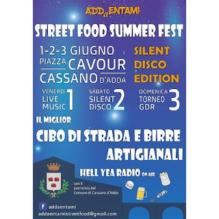 Street Food Festival 1-2-3 giugno Cassano d'Adda (MI)