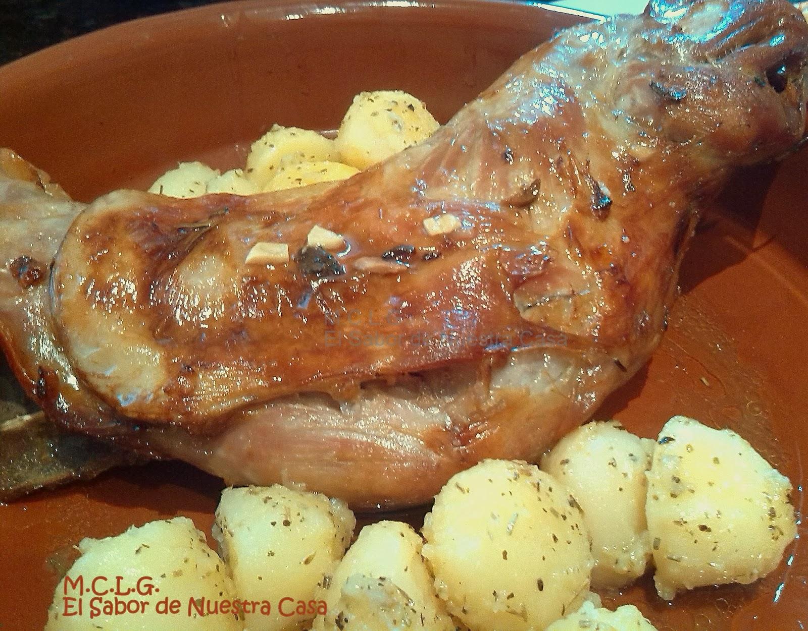 Paletilla de cordero al horno for Cocinar paletilla de cordero