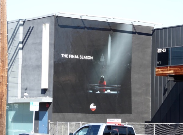 Scandal final season 7 billboard