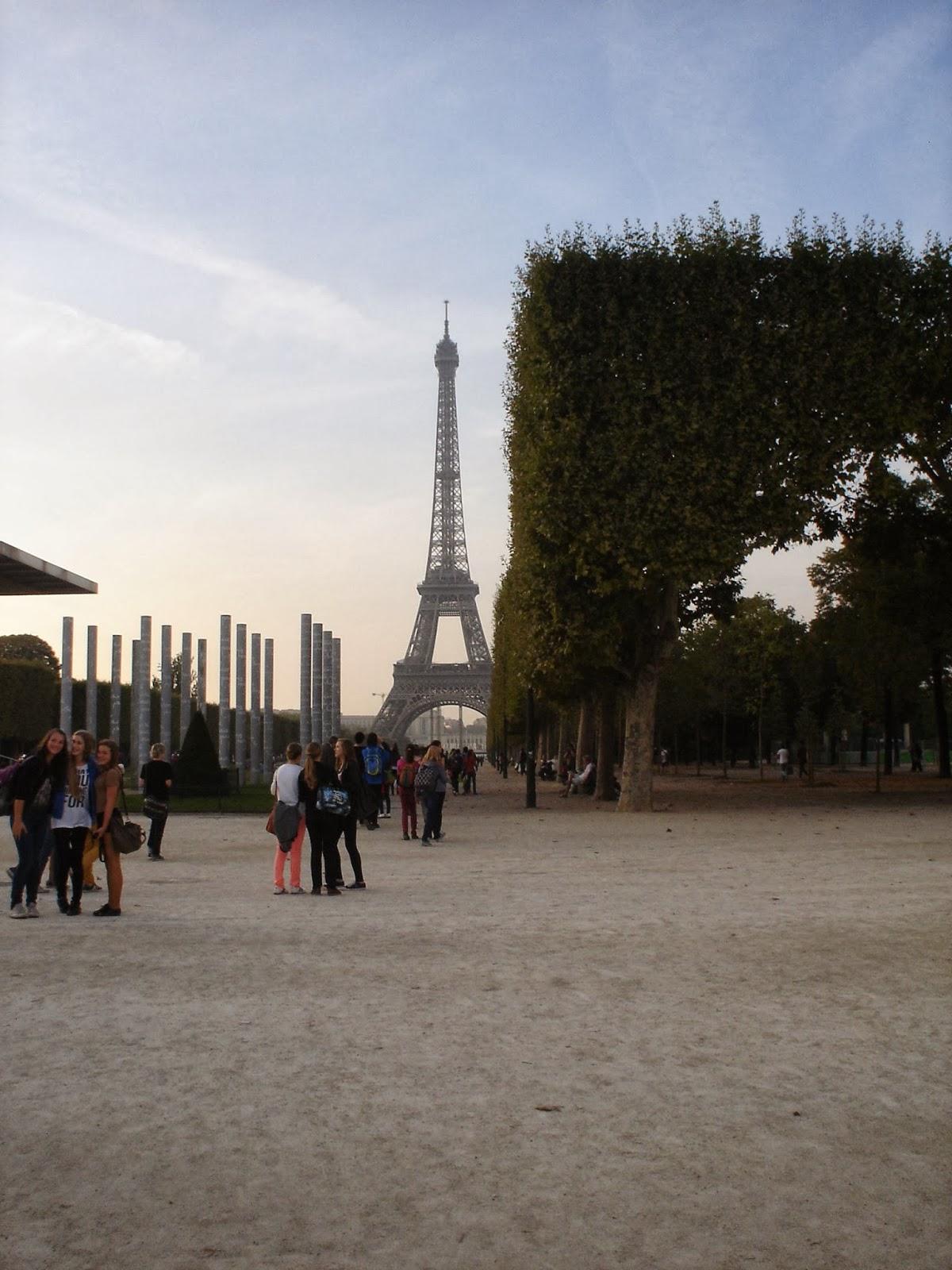 Eiffelova věž zájezd do Paříže