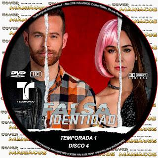 FALSA IDENTIDAD TEMPORADA 1 2018 [ SERIE TELEMUNDO + COVER DVD ]