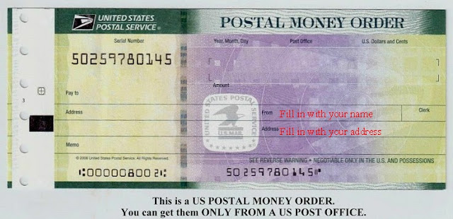 How to Fill Out a Postal Money Order