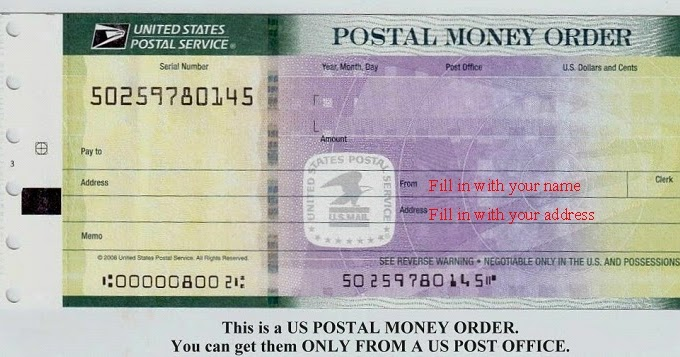 SEB 20: How to Fill Out a Postal Money Order