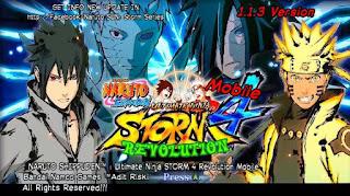 Naruto Shippuden: Ultimate Ninja Storm 4 Revolution [Narsen Mod] Apk