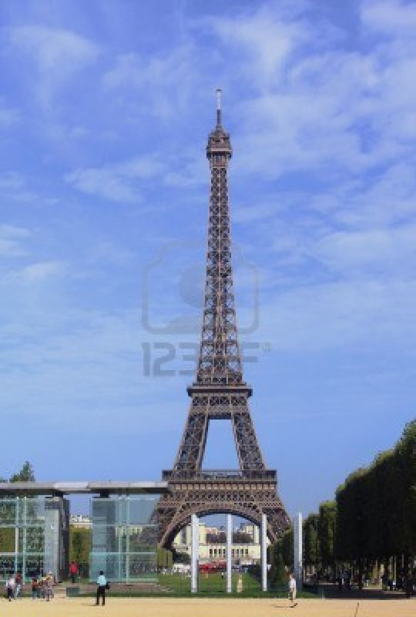 Paris Paris France Eiffel Tower
