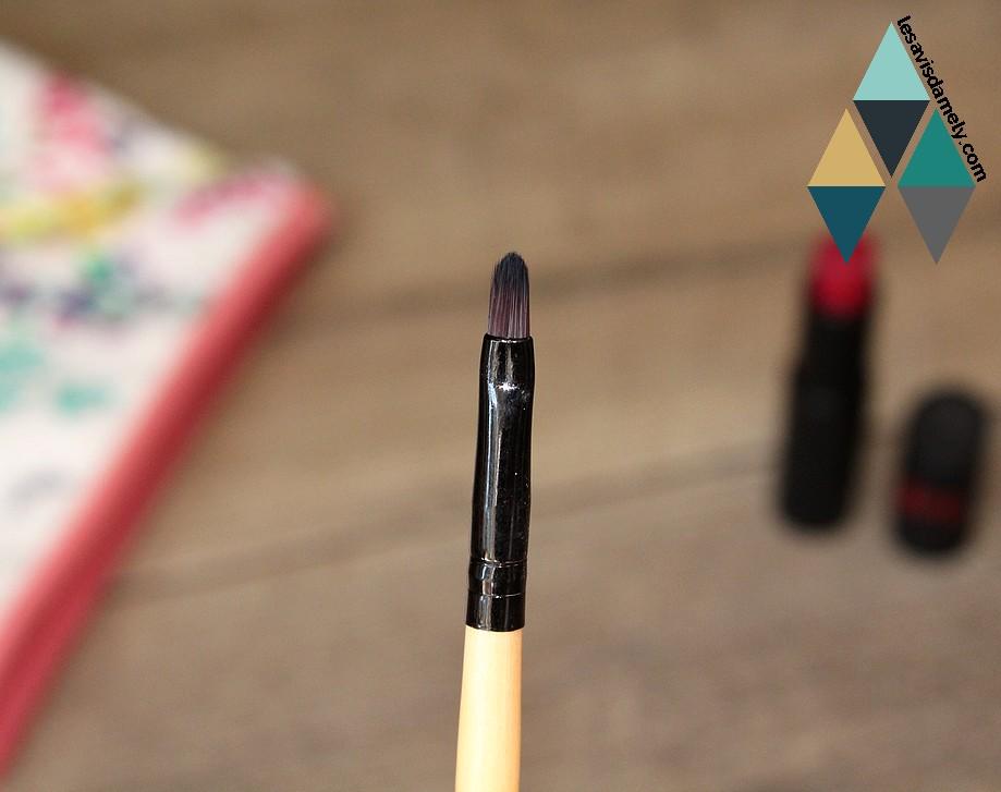 choisir pinceau à lèvres