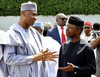 Saraki and VP Osinbajo
