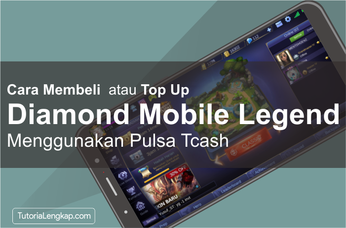 Tutorialengkap Cara Beli atau tumbas Diamond Mobile Legend