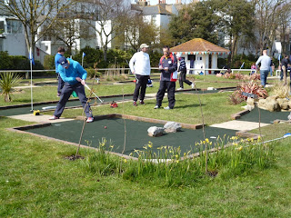 Splash Point Mini Golf in Worthing
