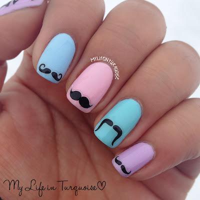 Movember-Nail-Art