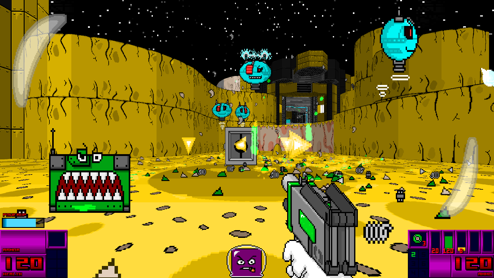 K * Digest!: Rather Retro And Rather Silly FPS The