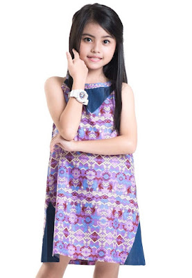 Model Baju Batik Anak Perempuan Cantik