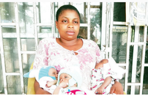 Photos : Woman Gave Birth To Triplets, Husband Flees And Abandons Them