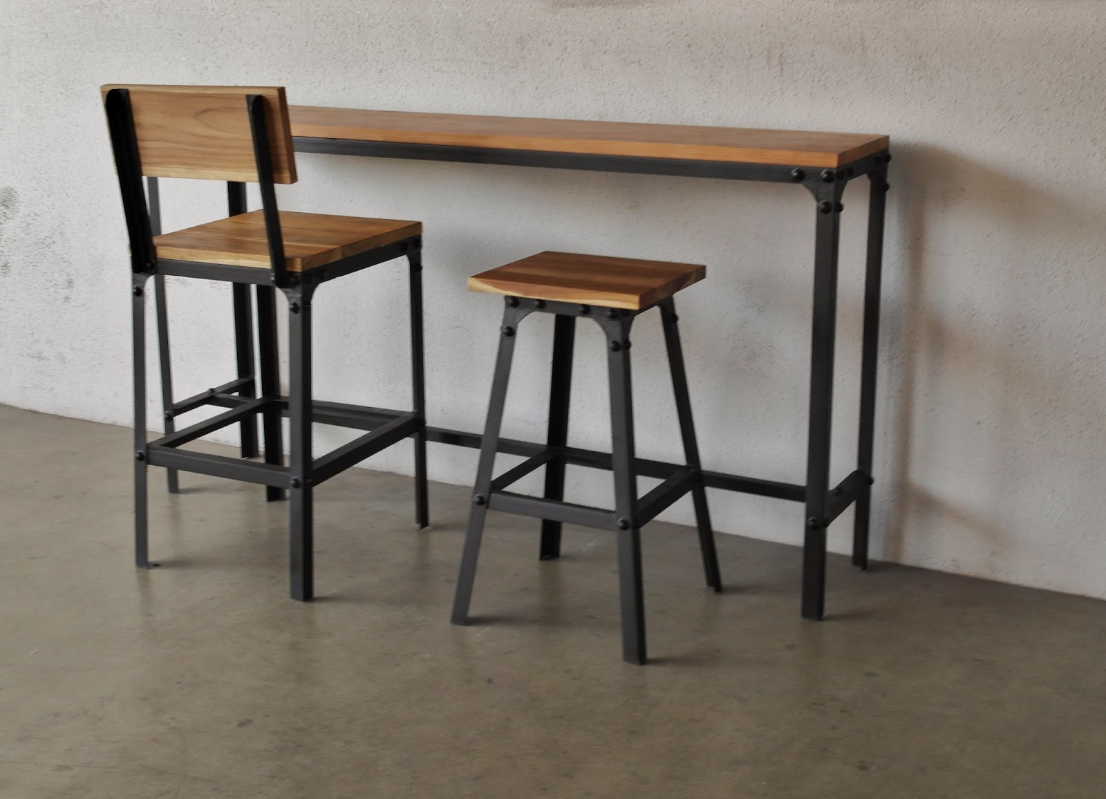 Bar Tables And Chairs Industrial Furniture As Trendy As Midcentury Modern