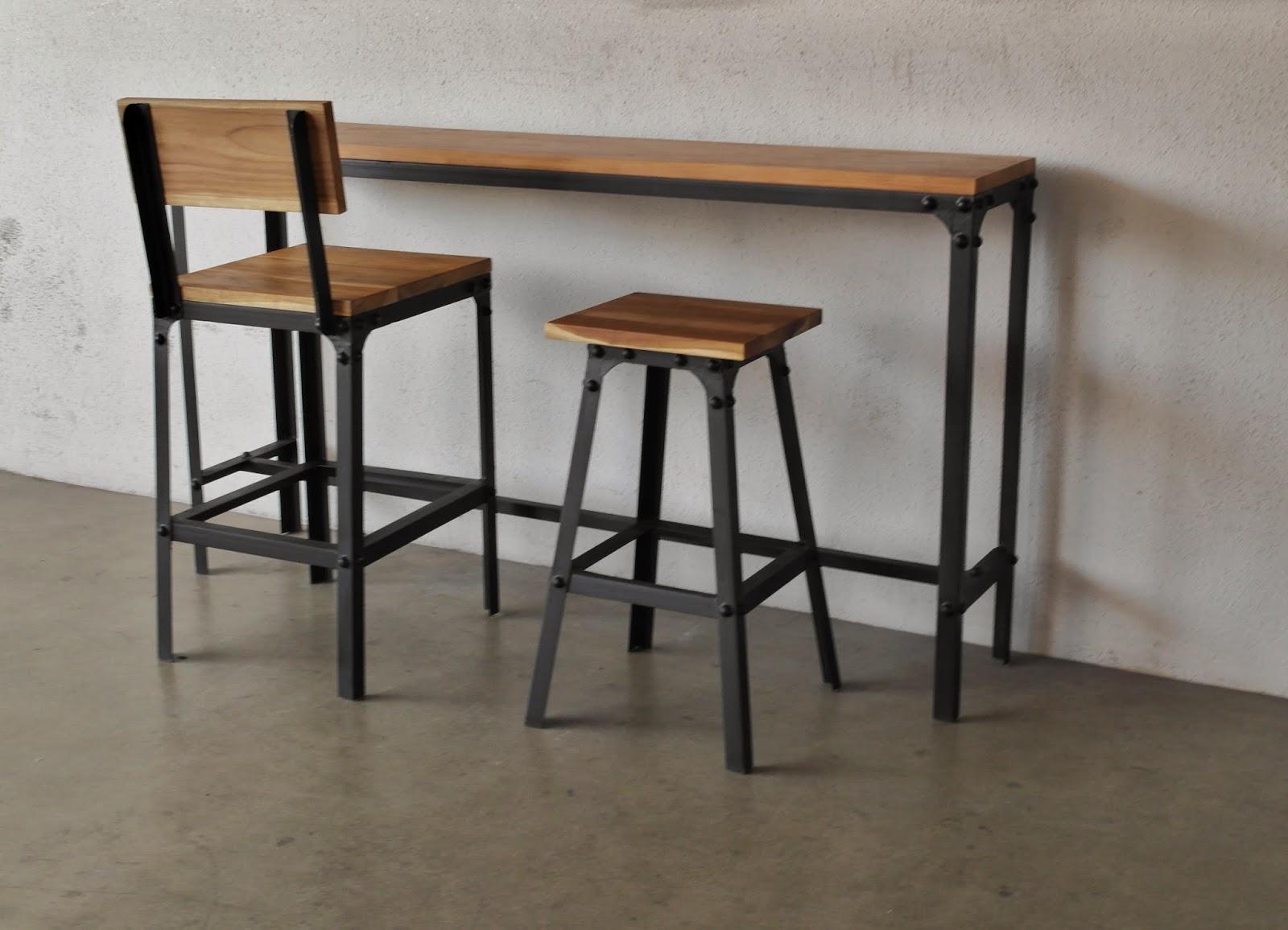 Bar Table Chairs Bean Bag Ikea Industrial Furniture As Trendy Midcentury Modern