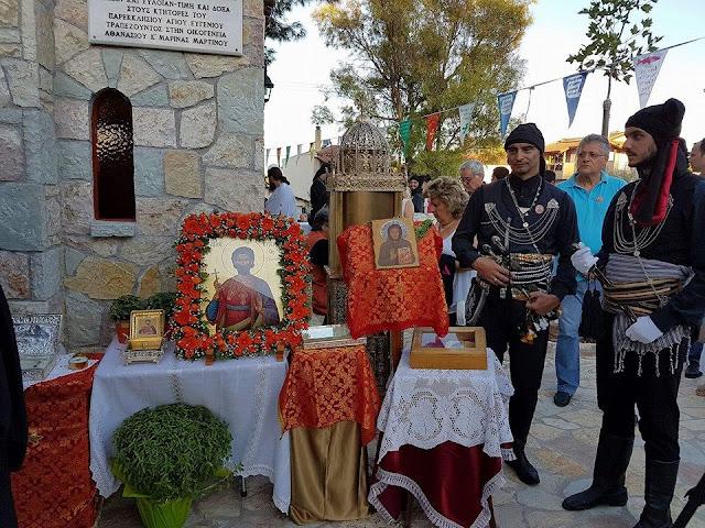 Εκδηλώσεις για τον Άγιο Ευγένιο Τραπεζούντος στον Ωρωπό