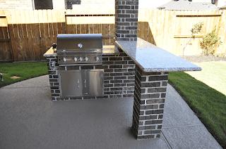 Custom Outdoor Kitchen DFW 2