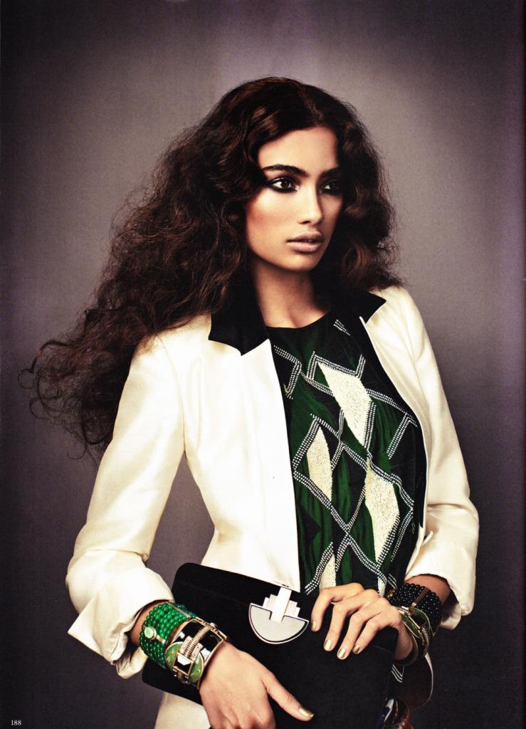 Asian Models Blog Editorial Kelly Gale In Elle Sweden