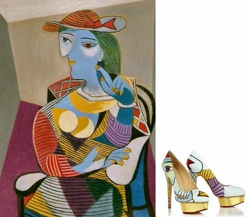 03-Pablo-Picasso-Seated-Woman-Boyarde-Messenger-Charlotte-Olympia-Dolly-Pumps-High-Heels-www-designstack-co