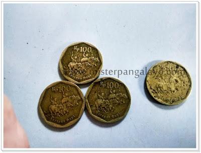 Uang logam pecahan 100 IDR, tahun 1991