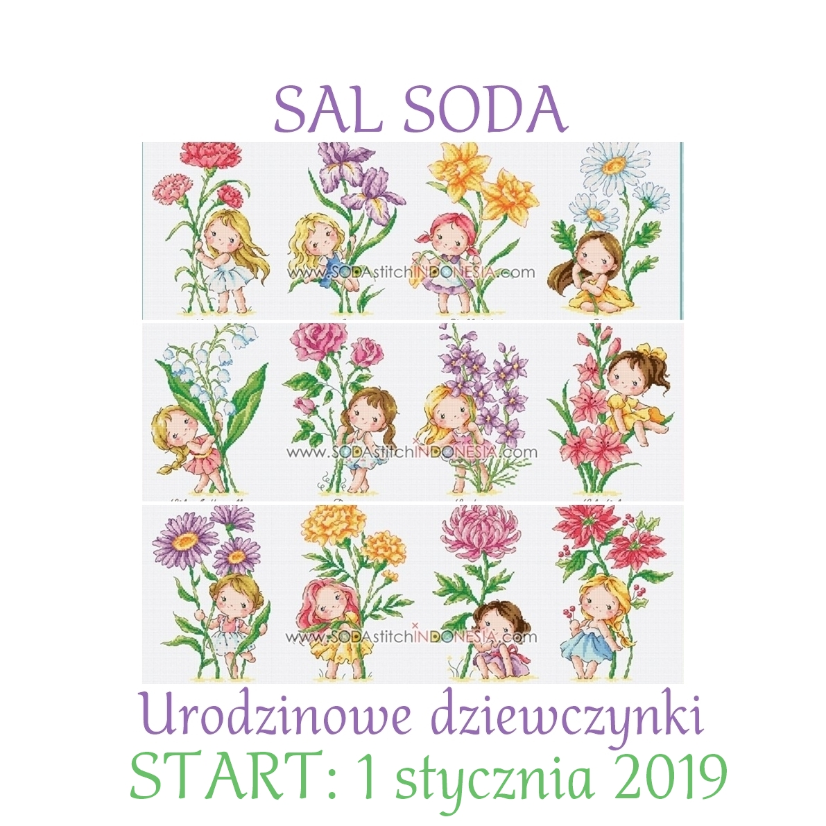 SAL Birth flowers SODA z Magos