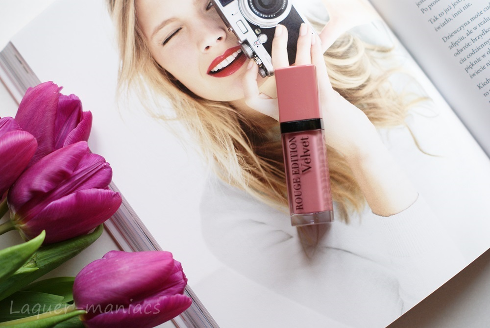 Bourjois Paris Rouge Edition Velvet, Don't Pink Of It nr 10