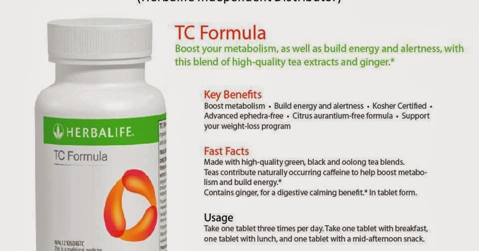 Herbalife-TC- Tc Application Form on