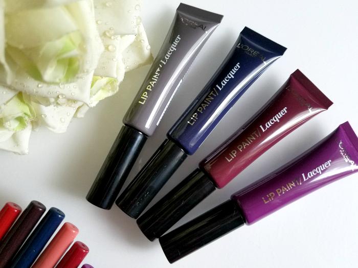 Review: Neue Farben: L´Oréal Paris - Infaillible Lip Paint Laquer Vampies - 7.95 Euro