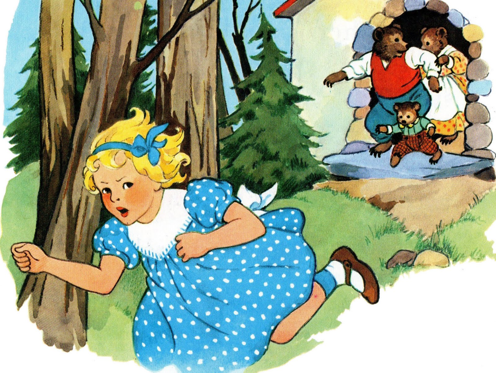 goldilocks and the three bears stories for kids