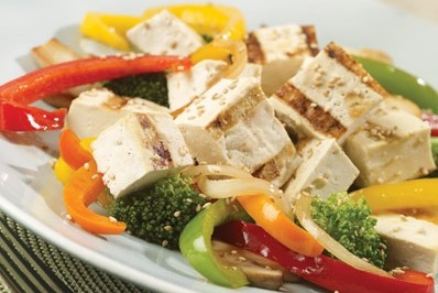 How to Make Tofu Salad with Vegetables