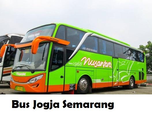 Bus Jogja Semarang Tarif Harga Tiket Terkini Yang Mau