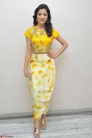 Richa Panai in Yellow Slim Fit Crop top ~ CelebxNext 029.JPG