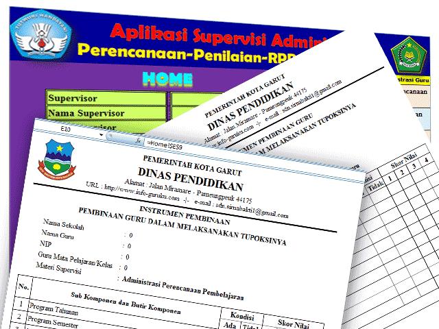 Aplikasi Supervisi Administrasi Perencanaan Dan Penilaian RPP berdasarkan Standar Proses