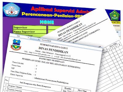 Aplikasi Supervisi Administrasi Perencanaan dan Penilaian RPP